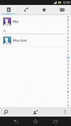 Sony Xpéria SP - Contact, Appels, SMS/MMS - Ajouter un contact - Étape 10