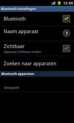 Samsung I9100 Galaxy S II - Bluetooth - koppelen met ander apparaat - Stap 11
