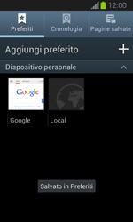 Samsung Galaxy Express - Internet e roaming dati - Uso di Internet - Fase 13