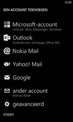 Nokia Lumia 520 - E-mail - e-mail instellen: IMAP (aanbevolen) - Stap 6