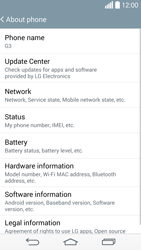 LG G3 - Software - Installing software updates - Step 7