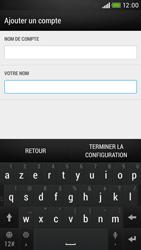 HTC Desire 601 - E-mail - Configuration manuelle - Étape 21