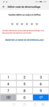 Huawei P30 Pro - Sécuriser votre mobile - Activer le code de verrouillage - Étape 6
