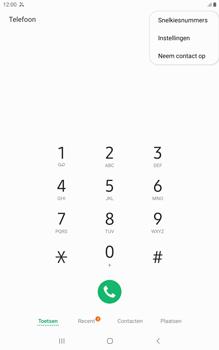 Samsung galaxy-tab-a-8-0-lte-2019-sm-t295 - Beveiliging en ouderlijk toezicht - Nummer blokkeren - Stap 6