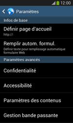 Samsung Galaxy Ace III - Internet et roaming de données - Configuration manuelle - Étape 22