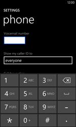 Nokia Lumia 1020 - Voicemail - Manual configuration - Step 7