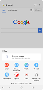 Samsung Galaxy A9 - Internet - hoe te internetten - Stap 22