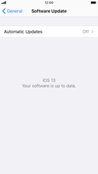 Apple iPhone 8 - iOS 13 - Software - Installing software updates - Step 6