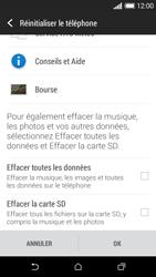 HTC Desire 610 - Aller plus loin - Restaurer les paramètres d'usines - Étape 6