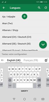 Huawei P20 - Android Pie - Prise en main - Comment ajouter une langue de clavier - Étape 11