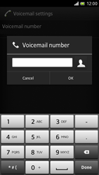 Sony LT28h Xperia ion - Voicemail - Manual configuration - Step 7