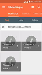 Alcatel U5 - Photos, vidéos, musique - Ecouter de la musique - Étape 6