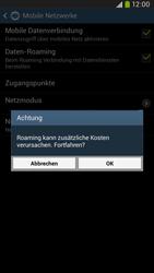 Samsung Galaxy Mega 6-3 LTE - Ausland - Im Ausland surfen – Datenroaming - 9 / 12