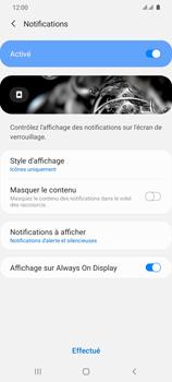 Samsung Galaxy S20 Ultra - Sécuriser votre mobile - Activer le code de verrouillage - Étape 11