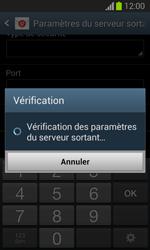 Samsung Galaxy Trend Lite - E-mail - configuration manuelle - Étape 15