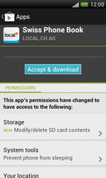 HTC Desire X - Applications - Installing applications - Step 9
