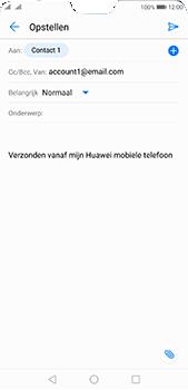 Huawei P20 Pro - E-mail - E-mails verzenden - Stap 7