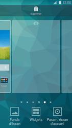 Samsung Galaxy S 5 - Prise en main - Installation de widgets et d