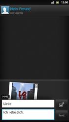 Sony Xperia S - MMS - Erstellen und senden - 1 / 1