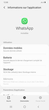 Samsung Galaxy S20 - Applications - Supprimer une application - Étape 6