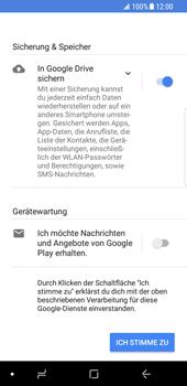 Samsung Galaxy S8 - Android Oreo - Apps - Einrichten des App Stores - Schritt 17