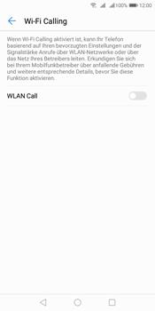 Huawei Y7 (2018) - WiFi - WiFi Calling aktivieren - Schritt 7