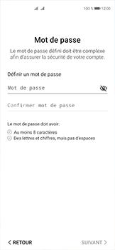 Huawei P40 - Applications - Créer un compte - Étape 15