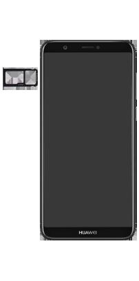 Huawei P Smart - Premiers pas - Insérer la carte SIM - Étape 4