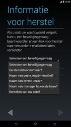 Sony C6833 Xperia Z Ultra LTE - apps - account instellen - stap 13