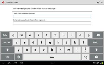 Samsung Galaxy Tab 2 10.1 - E-Mail - Manuelle Konfiguration - Schritt 15