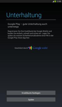 Samsung T211 Galaxy Tab 3 7-0 - Apps - Konto anlegen und einrichten - Schritt 21