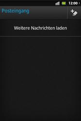 Sony Xperia Go - E-Mail - E-Mail versenden - Schritt 13