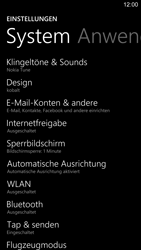 Nokia Lumia 1520 - E-Mail - Konto einrichten - 0 / 0