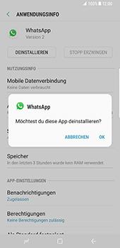 Samsung Galaxy S8 Plus - Apps - Eine App deinstallieren - Schritt 7
