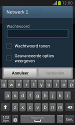 Samsung Galaxy Core (I8260) - WiFi - Verbinden met een netwerk - Stap 7