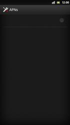 Sony Xperia S - Internet und Datenroaming - Manuelle Konfiguration - Schritt 9