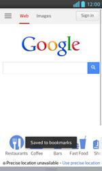 LG E460 Optimus L5 II - Internet - Internet browsing - Step 8