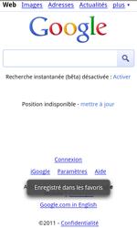 HTC Z710e Sensation - Internet - navigation sur Internet - Étape 7