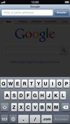 Apple iPhone 5 - Internet - navigation sur Internet - Étape 7