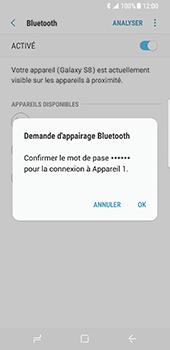 Samsung Galaxy S8 - Bluetooth - connexion Bluetooth - Étape 10