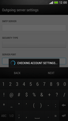 HTC Desire 601 - Email - Manual configuration POP3 with SMTP verification - Step 20