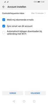 Huawei P Smart (2019) - E-mail - e-mail instellen: IMAP (aanbevolen) - Stap 14