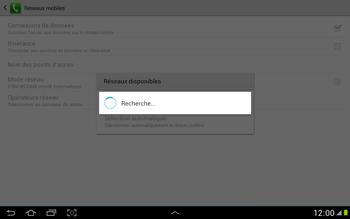 Samsung N8000 Galaxy Note 10-1 - Réseau - utilisation à l'étranger - Étape 10