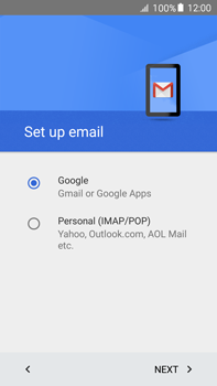 Samsung Galaxy A8 - E-mail - 032a. Email wizard - Gmail - Step 9
