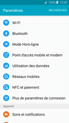 Samsung Galaxy J3 (2016) - Internet et connexion - Partager votre connexion en Wi-Fi - Étape 4