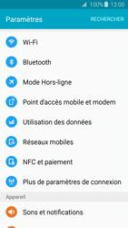 Samsung Galaxy J3 (2016 (J320) - Wifi - configuration manuelle - Étape 3