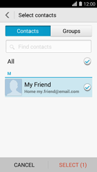 Huawei Ascend Y550 - E-mail - Sending emails - Step 7