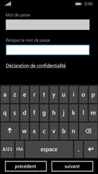 Nokia Lumia 735 - Premiers pas - Créer un compte - Étape 13