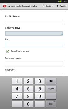 Samsung Galaxy Note 8-0 - E-Mail - Konto einrichten - 0 / 0