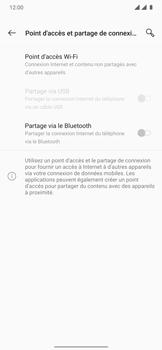 OnePlus 7T Pro - Internet et connexion - Partager votre connexion en Wi-Fi - Étape 6